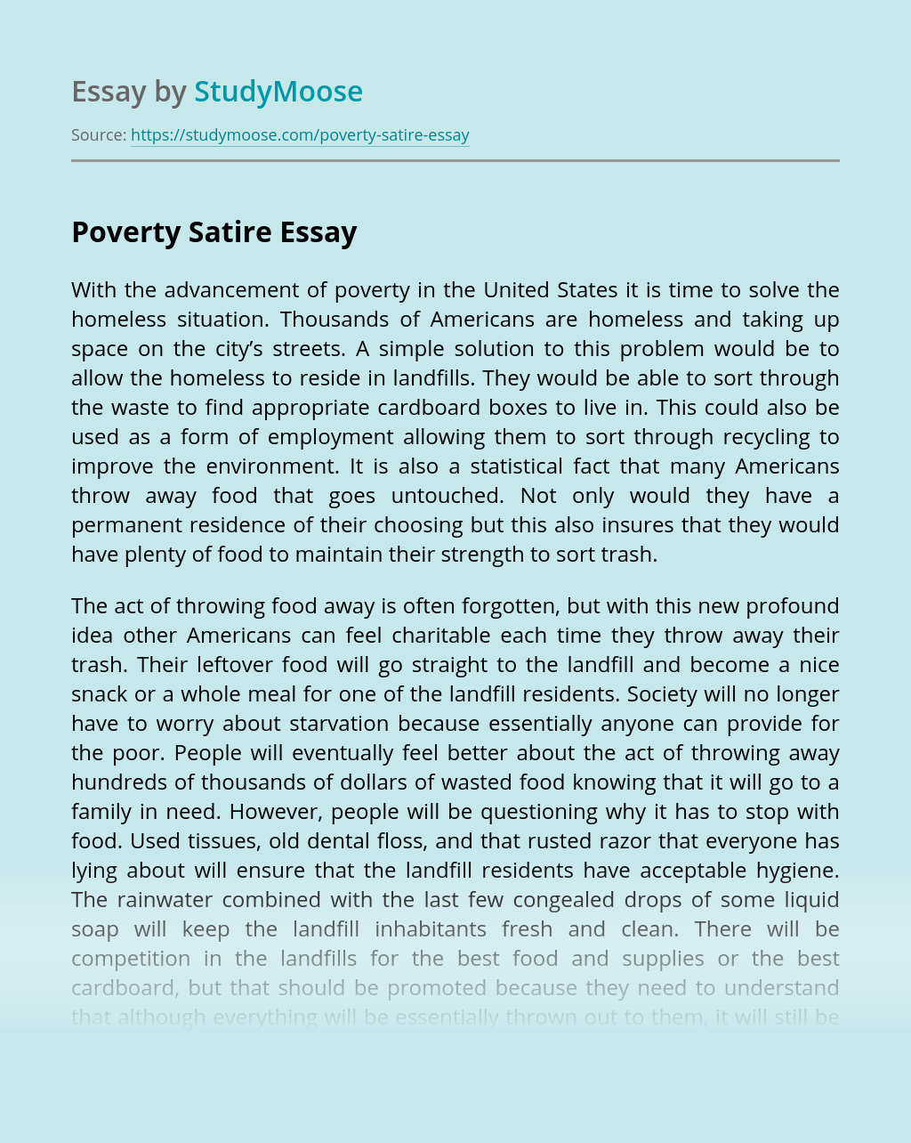 Satire Essay Topics For Perfect Writing in