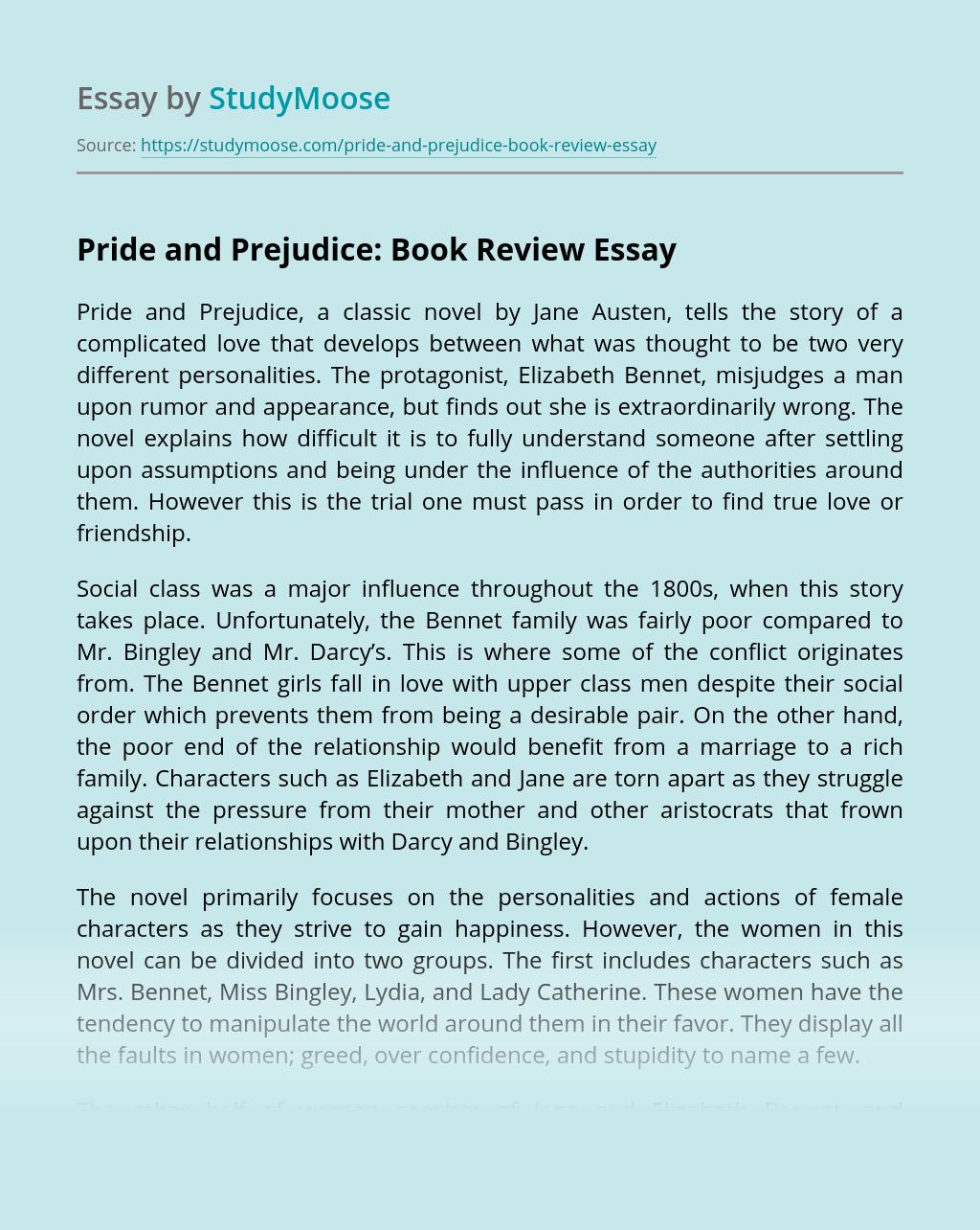 Free essays pride and prejudice sample functional resume receptionist