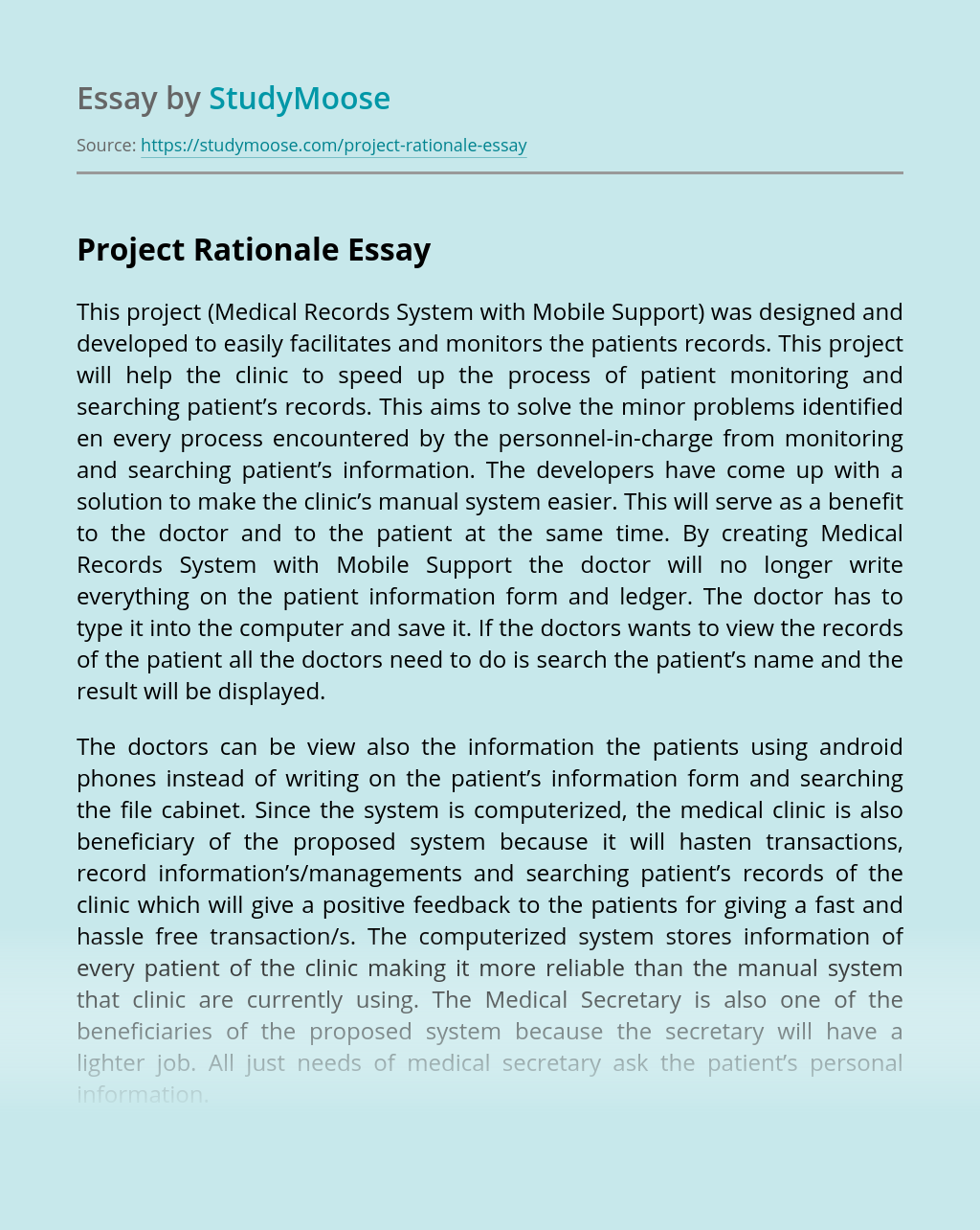 Write dissertations project reports