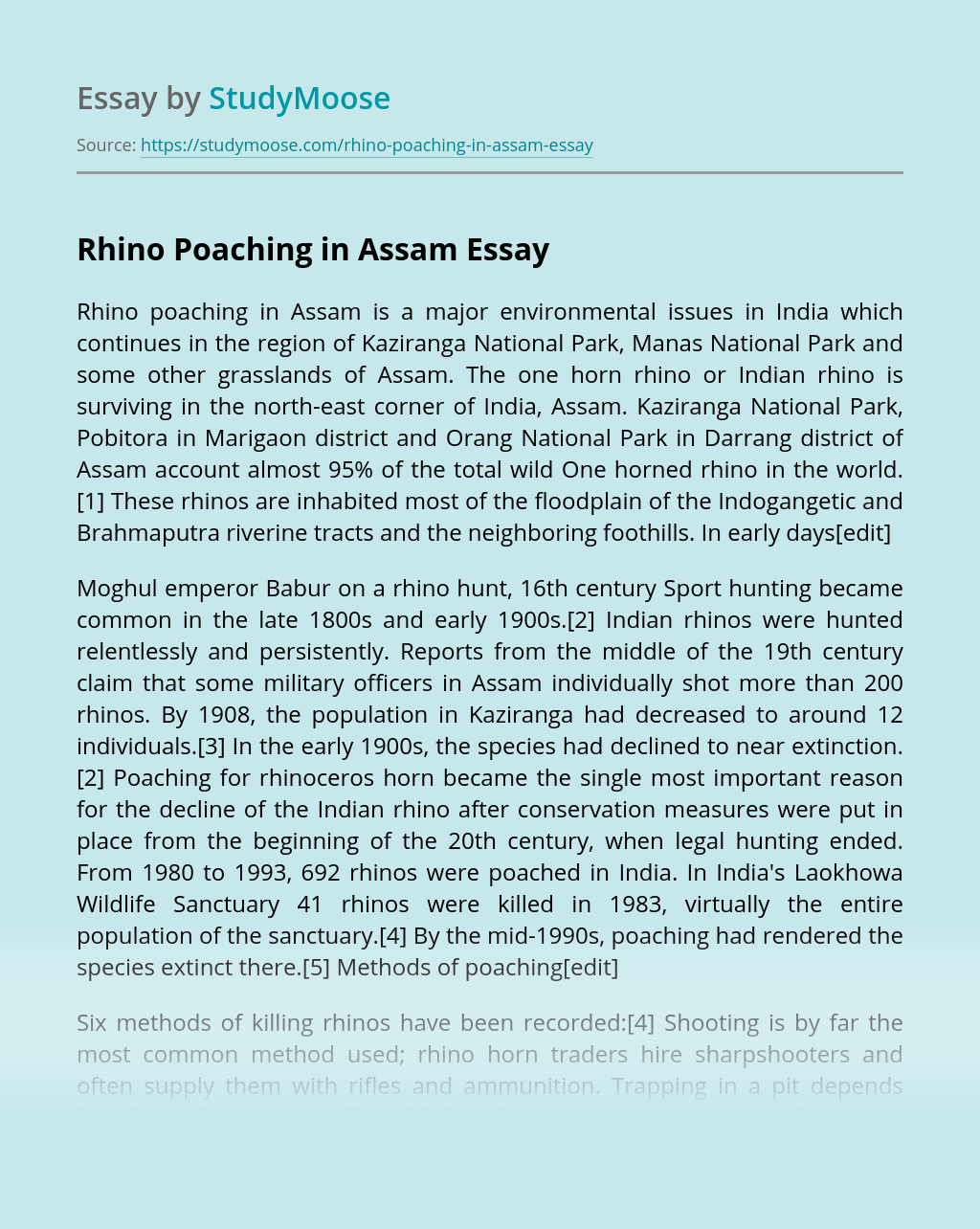Diagram on photessay