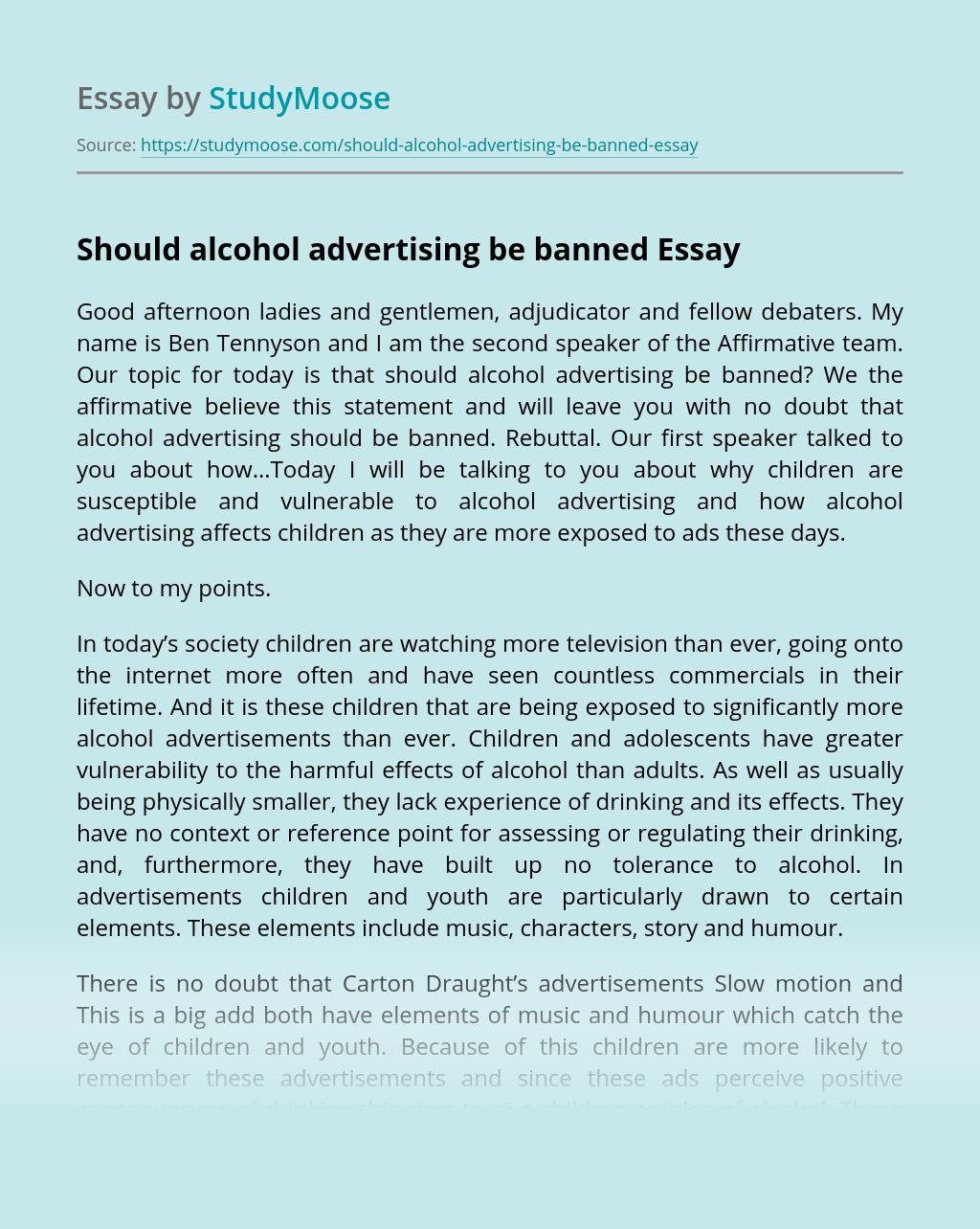 Alcohol Advertising - blogger.com