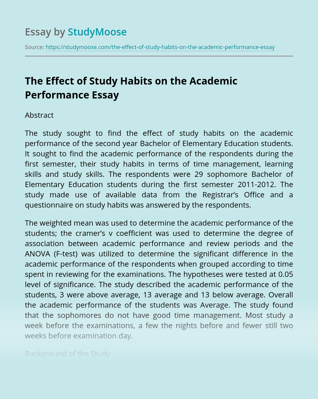 Mla reference for essay