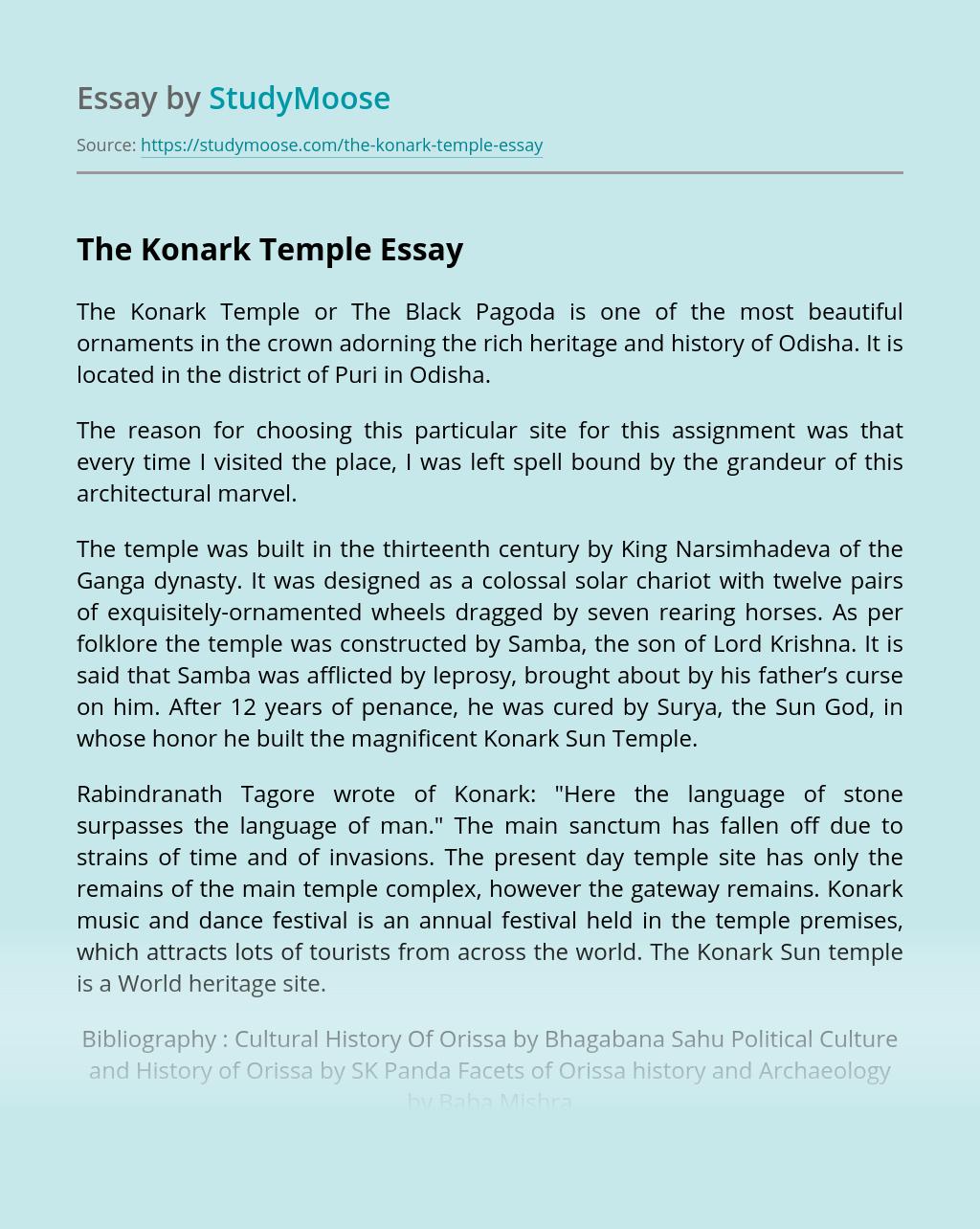 The Konark Temple