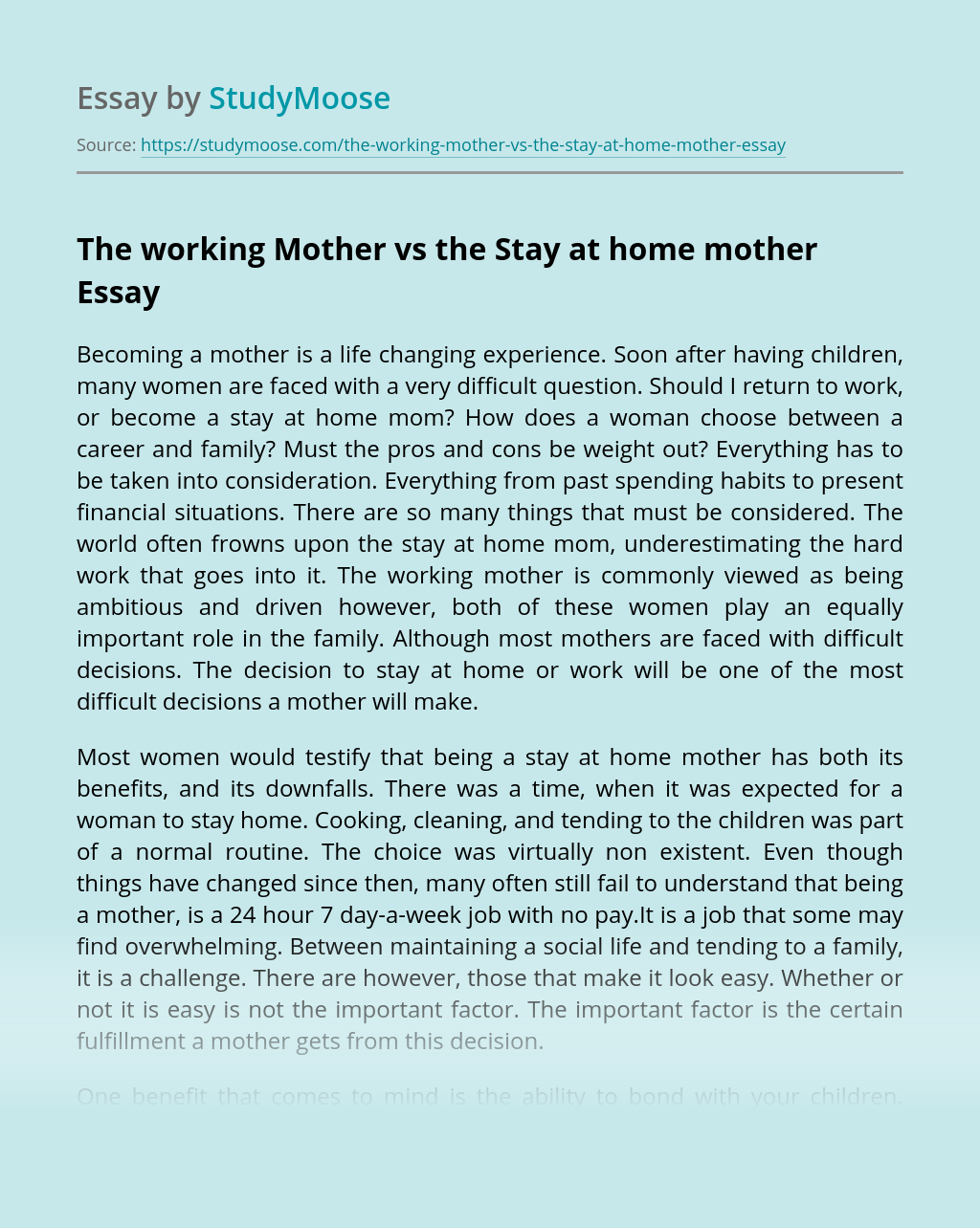 Essay about work both parents in our time cheap movie review ghostwriting sites for phd