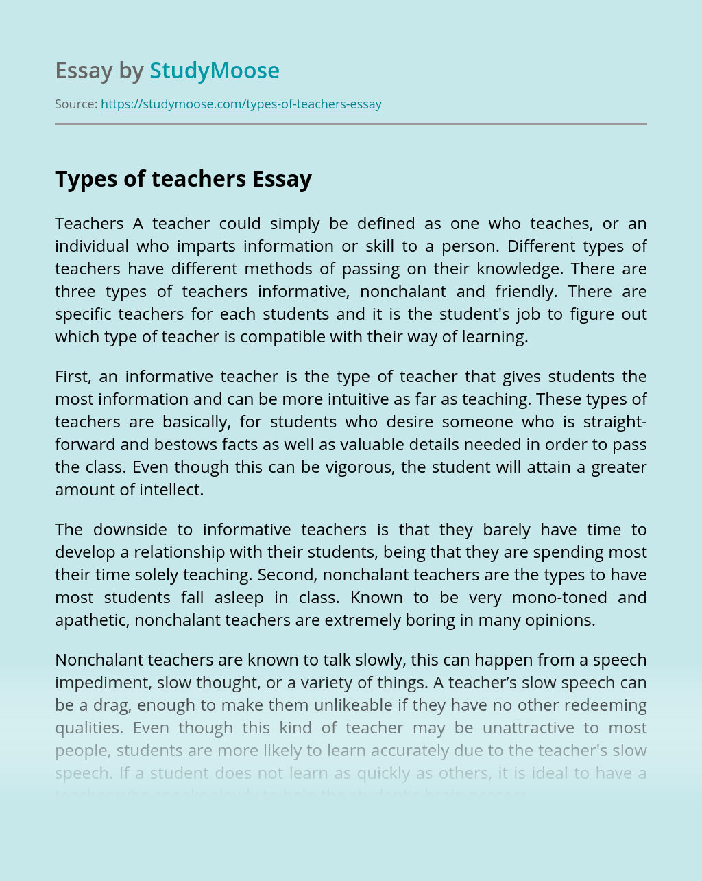 Essay for teachers space time and architecture resume