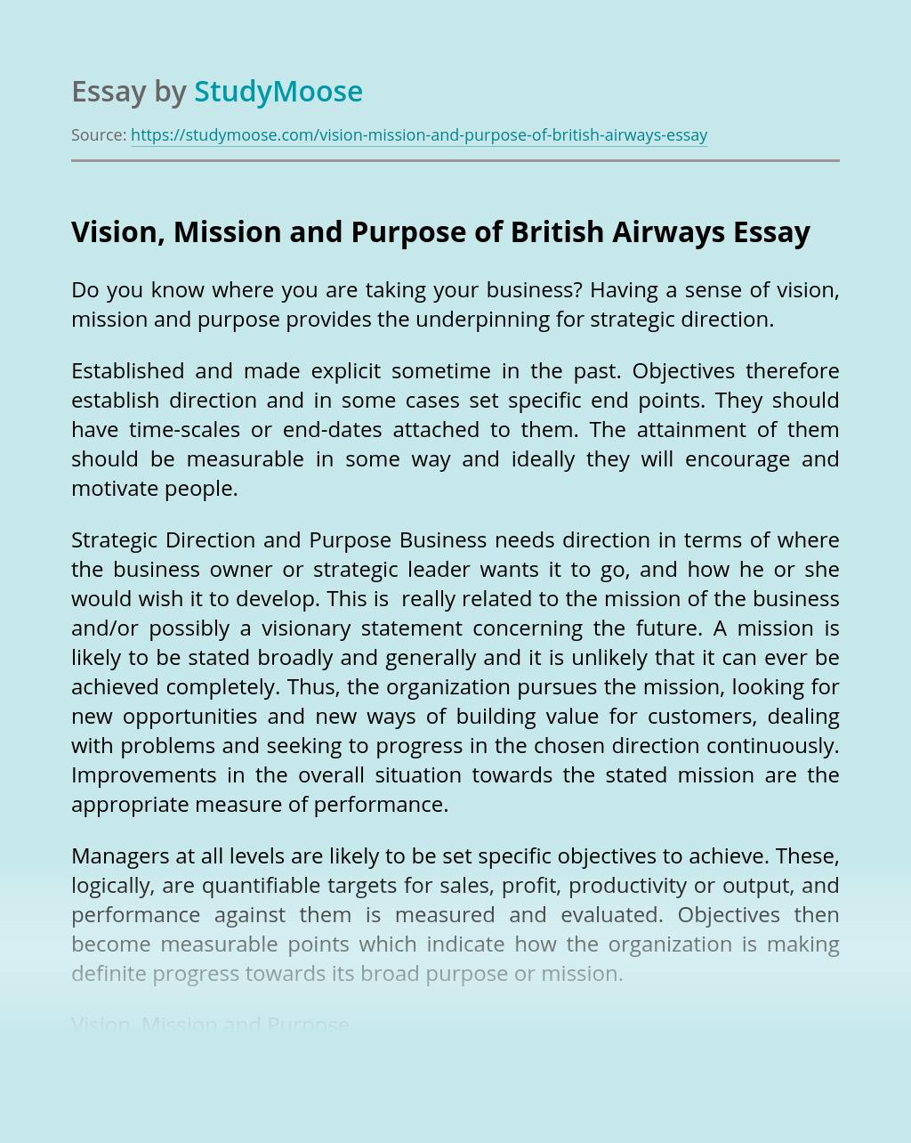 British Airways: Overview - blogger.com