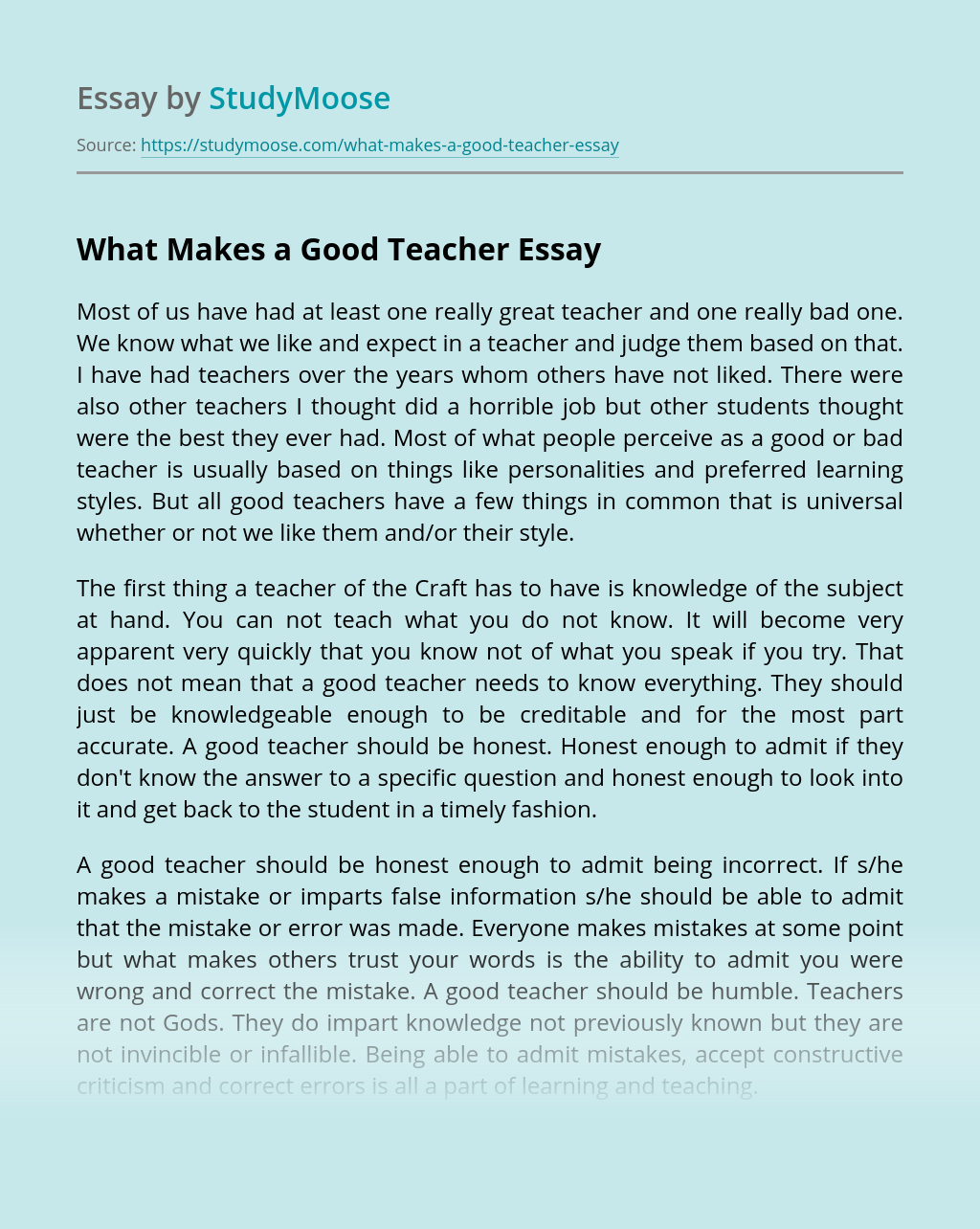 Free essays on why i want to become a teacher people and plans essays on urban problems and solutions