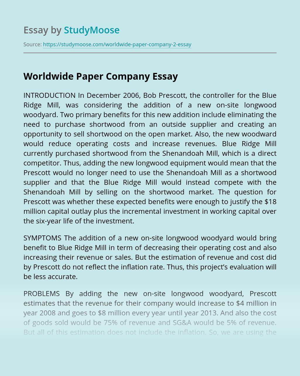 Worldwide Paper Company