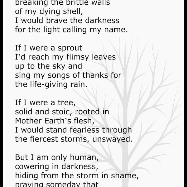 A Poem Essay Examples