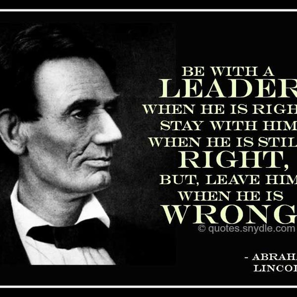 Abraham Lincoln Leadership Essay Examples