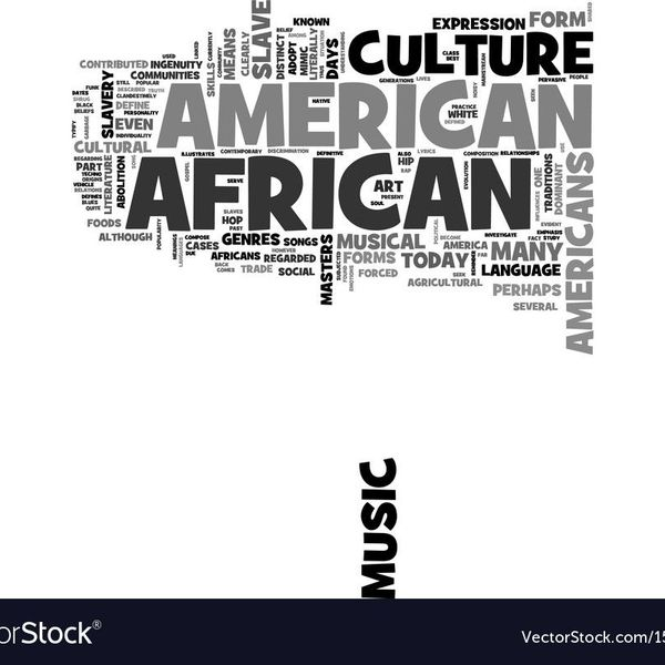 African American Culture Essay Examples