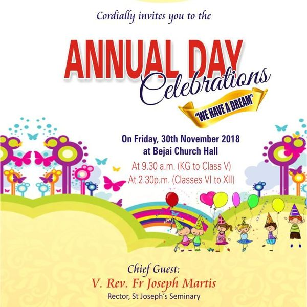 Annual Day Celebration Of School Essay Examples
