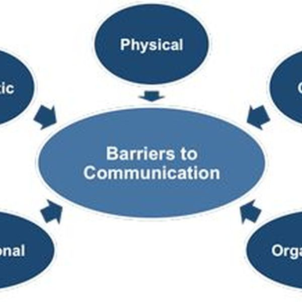 Barriers To Communication Essay Examples