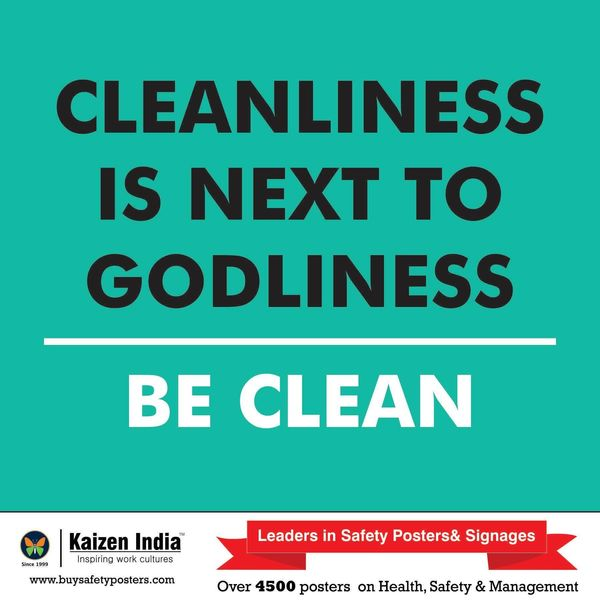 Cleanliness Is Next To Godliness Essay Examples