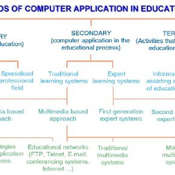 Computer Application In Education Essay Examples
