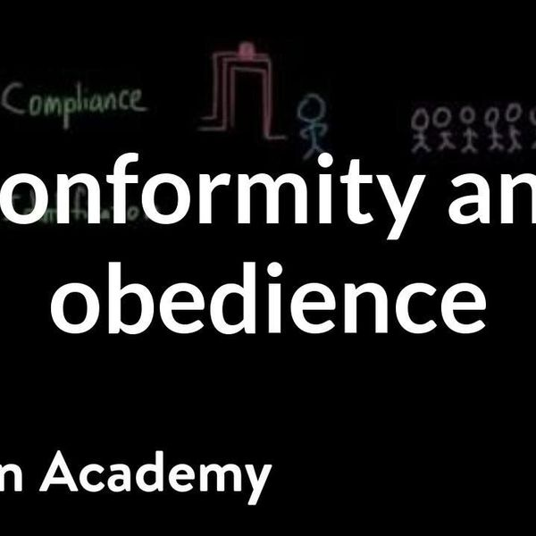 Conformity And Obedience Essay Examples