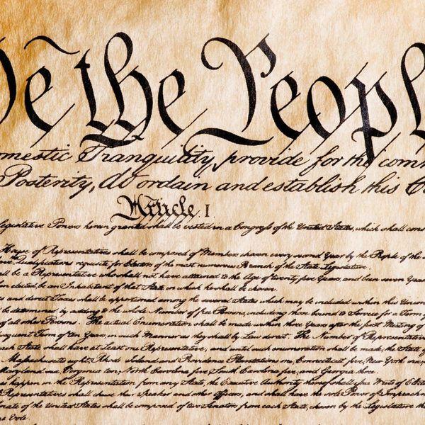 Constitution Essay Examples