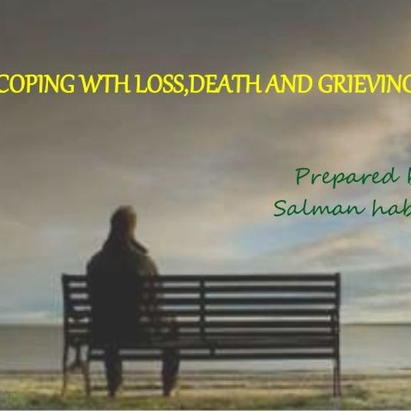 Coping With Loss Essay Examples