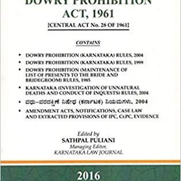Dowry Prohibition Act 1961 Essay Examples