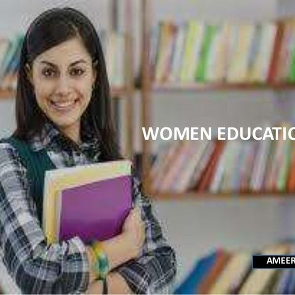 Education Of Women Essay Examples