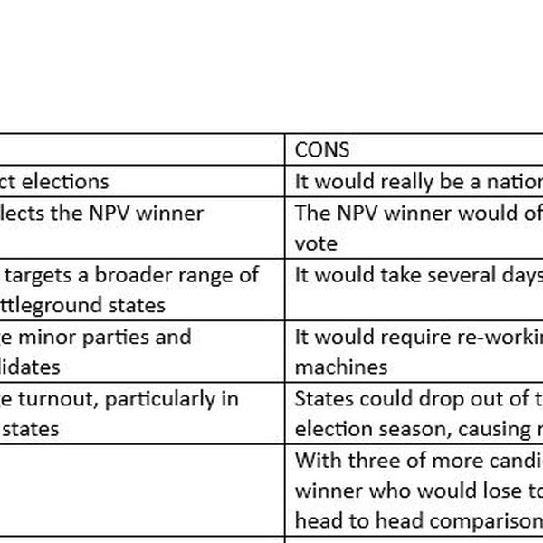 Electoral College Pros And Cons Essay Examples