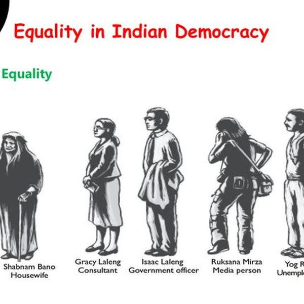 Equality In Indian Democracy Essay Examples