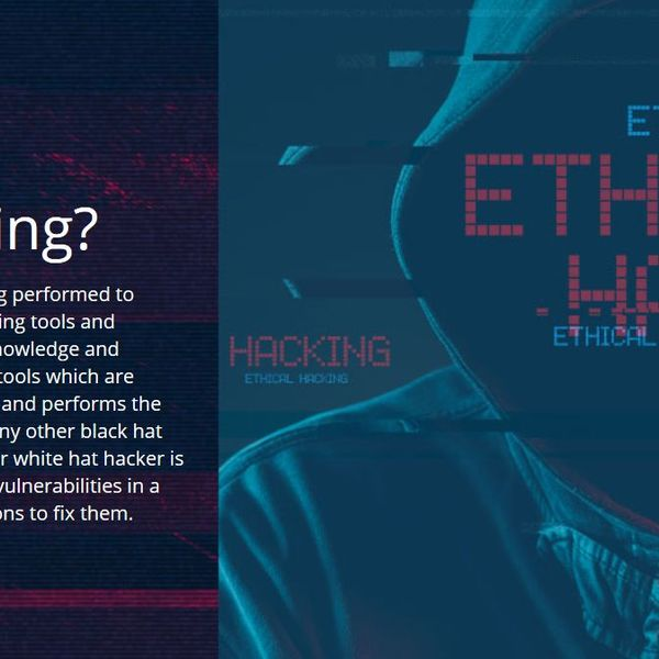 Ethical Hacking Essay Examples