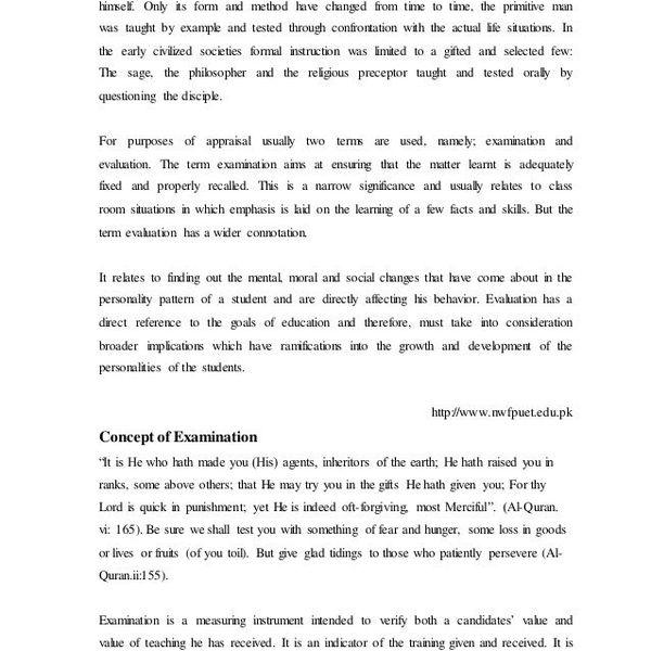 Examination System In Pakistan Essay Examples