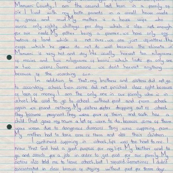 Experience Of School Life Essay Examples