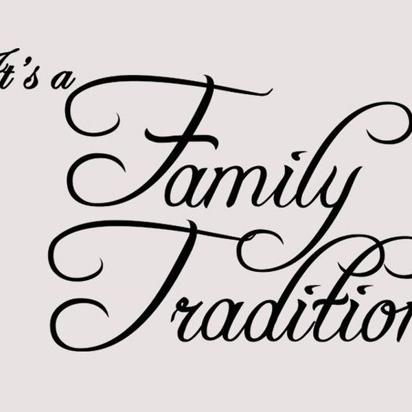 Family Tradition Essay Examples