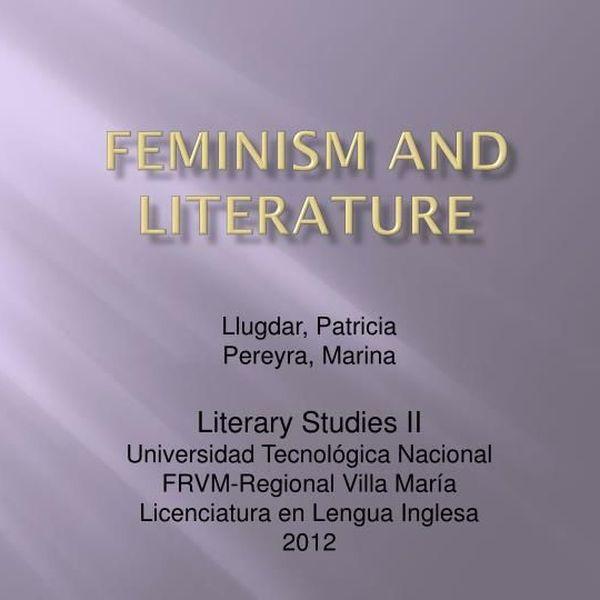 Feminism In Literature Essay Examples