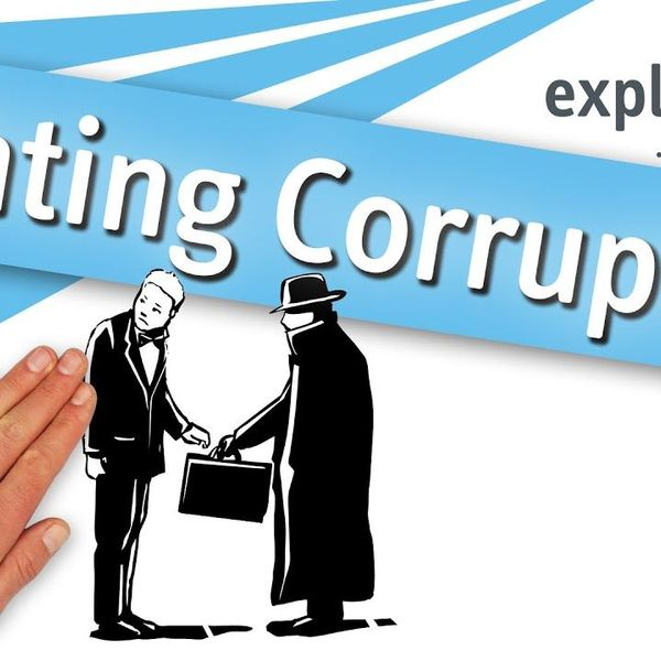 Fighting Corruption Essay Examples