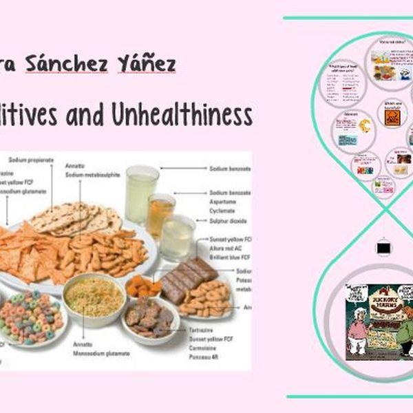 Food Additives And Unhealthiness Essay Examples