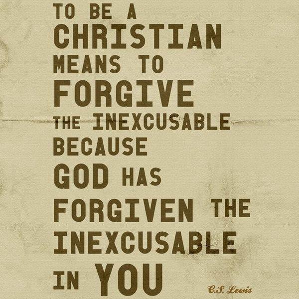 Forgiveness Cs Lewis Essay Examples