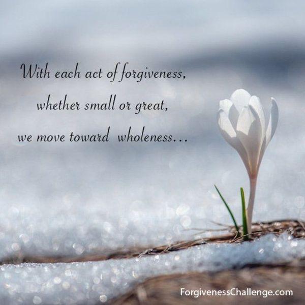 Forgiveness Essay Examples