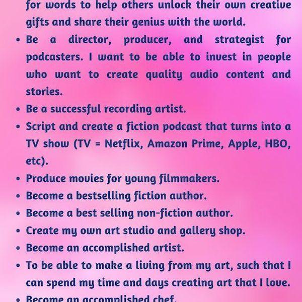 Goals In Life Essay Examples