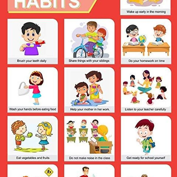Good Habits For Children Essay Examples