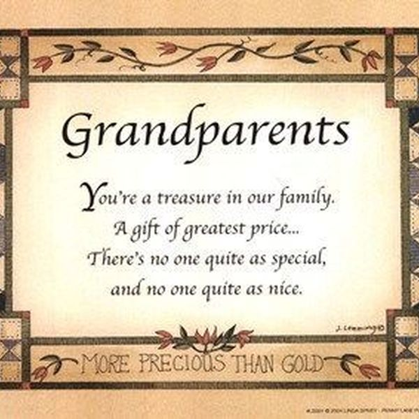 Grandparents Our Treasure Essay Examples