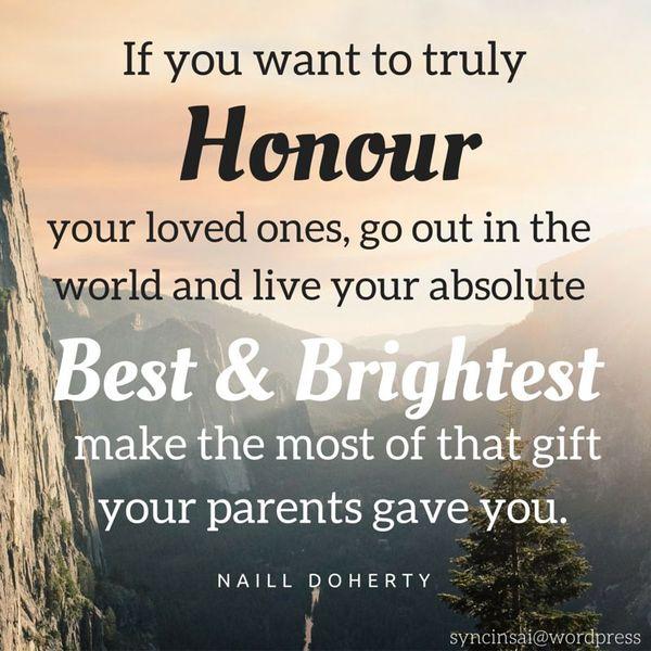 Honour Your Parents Essay Examples