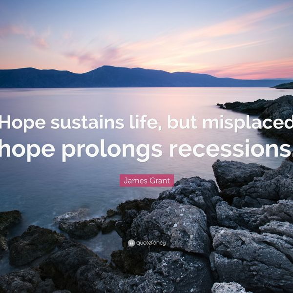 Hope Sustains Life Essay Examples
