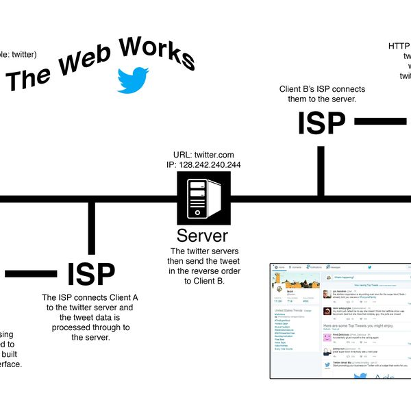 How The Web Works Essay Examples