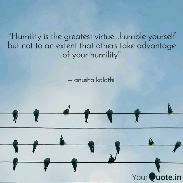 Humility Is The Greatest Virtue Essay Examples