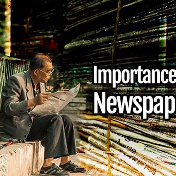 Importance Of Newspapers Essay Examples