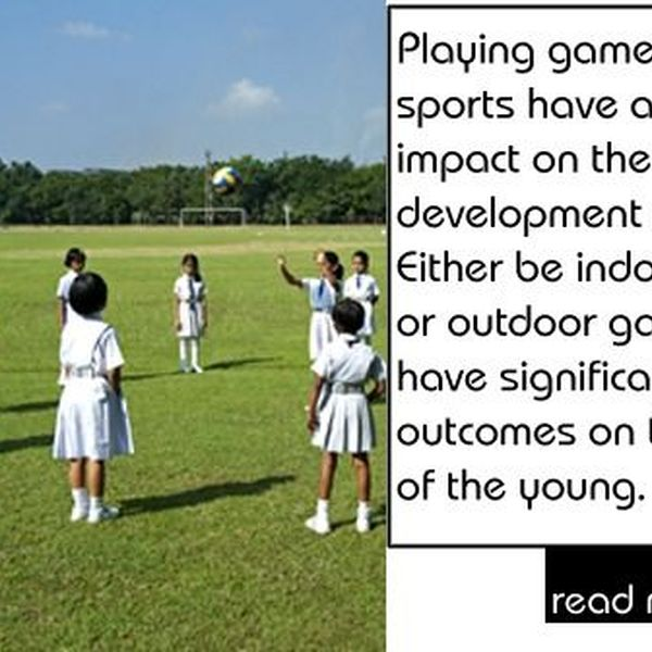 Importance Of Playing Games Essay Examples