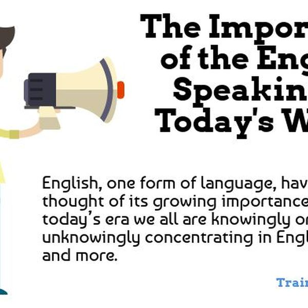 Importance Of Speaking English Essay Examples