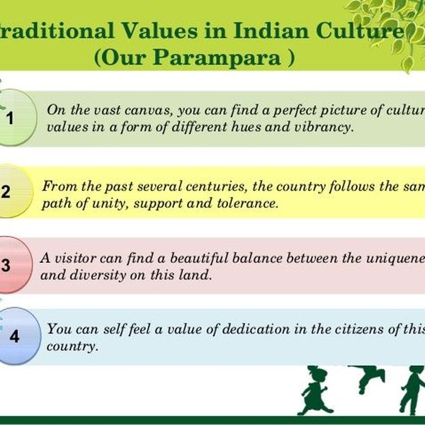 Indian Traditional Values Essay Examples