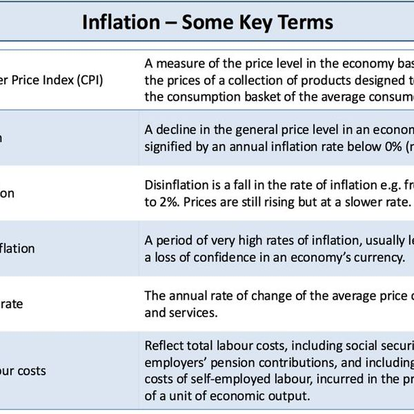 Inflation And Its Effects Essay Examples