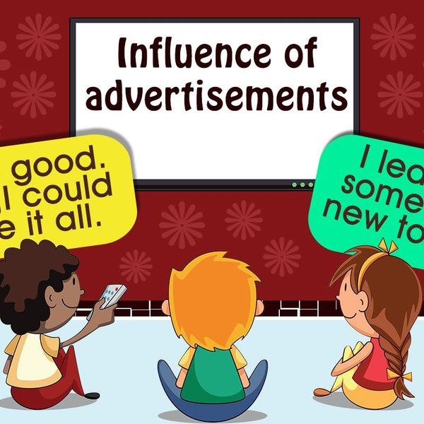 Influence Of Advertisement Essay Examples