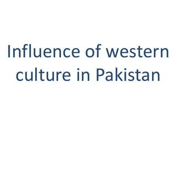 Influence Of Western Culture Essay Examples