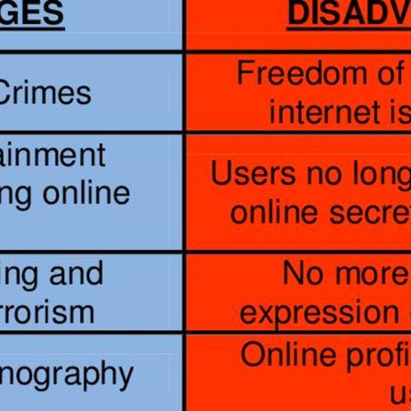 Internet Advantages And Disadvantages Essay Examples